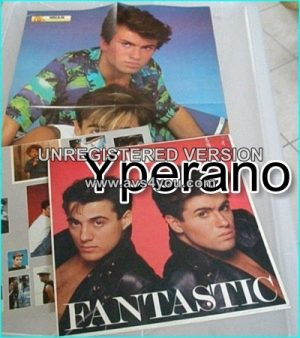 Wham: Fantastic LP with poster + inner lyric and photos bag. George Michael. Check videos