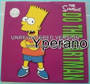 The Simpsons: Do the bartman 12""