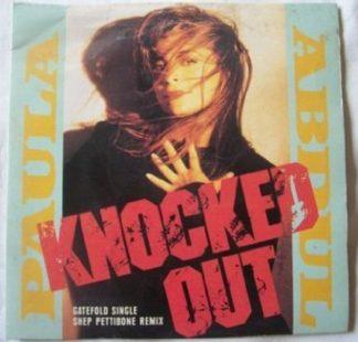 "Paula ABDUL Knocked Out 7"" [Gatefold Single Nice cover] Check video"