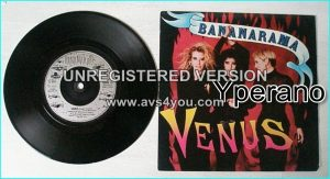 "BANANARAMA: Venus 7"". Check video"