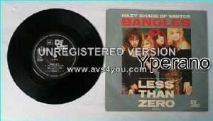 Bangles / Joan Jett n The Blackhearts: Hazy Shade Of Winter / Shes Lost You 7""