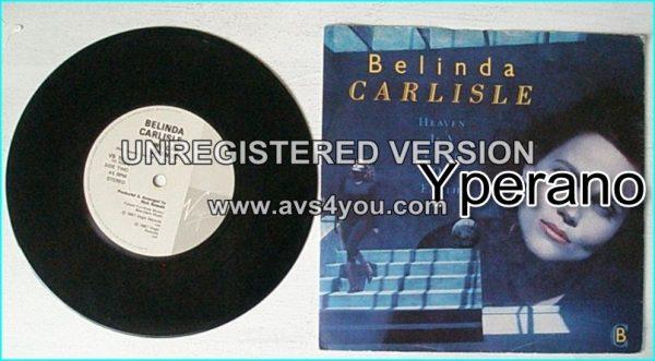 """Belinda CARLISLE: Heaven Is A Place On Earth 7"""""""