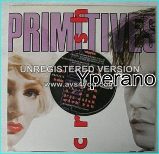 "The PRIMITIVES: Crash [Mega classic song] 7"" (4 songs) Check video"