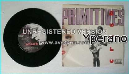 "The PRIMITIVES: Crash [Mega classic song] 7"" (2 songs) Check video"