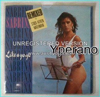 """SABRINA: like a yo yo (SAW Remix) + My Chico (Remix) 7"""" Check video"""