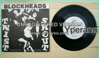 "BLOCKHEADS: Twist n Shout + Take out the lead 7"" Very good cover + great B side"