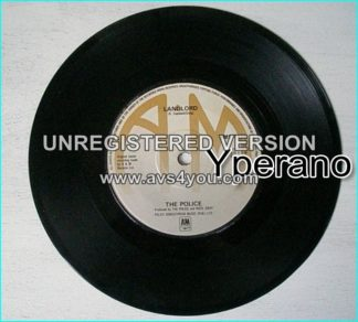 The POLICE: Message In A Bottle + Landlord (unreleased) (Sept 79) Check video