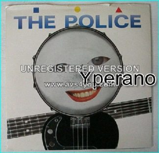 The POLICE: Roxanne + Synchronicity II AnM AM 363 smiling snare drum face (1978) RARE Check video