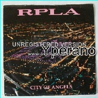 "RPLA: City of Angels + Made of Stars 7"" Similar to The Cult. Check video."
