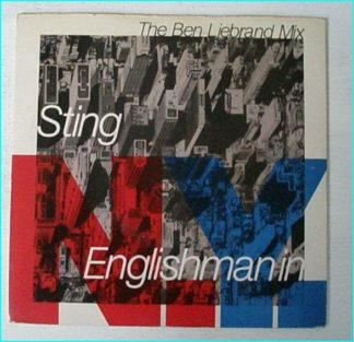 "STING: Englishman in N.Y (The Ben Liebrand Mix) + if you love somebody set them free 7"" Check video"