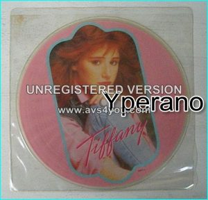 "TIFFANY: Couldve Been + The Heart of love [ Limited Edition picture disc] 7"" Check video"