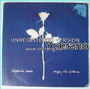 "DEPECHE MODE Enjoy the Silence + Memphisto 7"" UK. Check video"