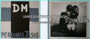 "DEPECHE MODE: Personal Jesus + Dangerous 7"" UK. Check video."