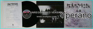 BABYLON A.D: Babylon a.d (s.t) LP PROMO dynamic US Sleazy Hard Rock. Check videos