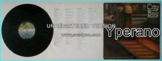 CITY BOY: The Day The Earth Caught Fire LP Classic. Vertigo Polygram. Critically acclaimed Symphonic Rock.