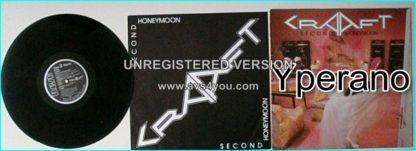 CRAAFT: Second Honeymoon LP with inner. German quality Melodic Hard Rock. Check videos.