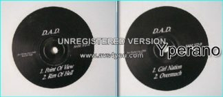 """D.A.D: Point Of View 12"""" 4 song PROMO SAM 572 in black sleeve, label says For promo use only, not for sale. Check video"""