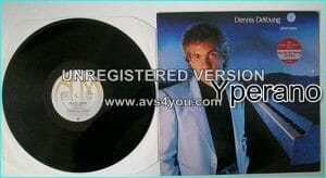 Dennis DE YOUNG: Desert Moon LP [the STYX vocalist / keyboardist dbut A.O.R solo album + Jimi Hendrix cover] Check videos