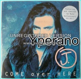 "J: Come Over Here 7"" with Nuno Bettencourt the Extreme guitarist who has also re-mixed this. AnM records PROMO"