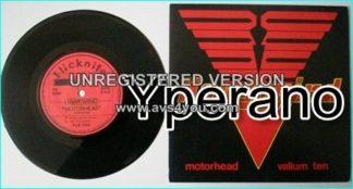 "HAWKWIND: Motorhead 7"" + Valium Ten. Fantastic spaced out version of the Motorhead classic. Check video"