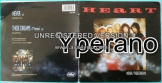 """HEART: Never 7"""" + These Dreams (7"""" beautiful gatefold with killer pictures). Check videos"""