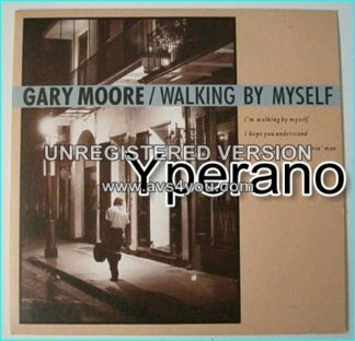 "Gary MOORE: Walking By Myself 7"" + Still Got The Blues (Live at Cologne 90). Check video"