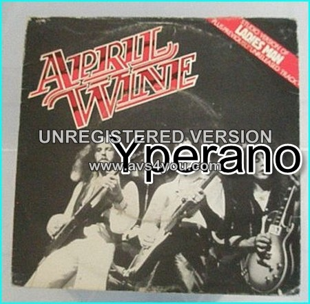 "APRIL WINE: Ladies Man 7"" Check videos"