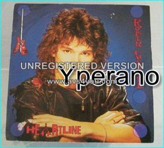 "ROBIN GEORGE: Heartline 7"" inch vinyl 1985 Rock / A.O.R Legendary singer / guitarist Read info + CHECK VIDEO"