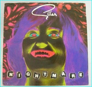 """GILLAN: Nightmare 7"""" + Bite The Bullet (Recorded Live at Reading) UK 7"""". Check videos."""