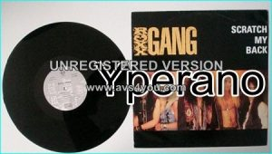 "ROXX GANG: Scratch My Back 12"". Top sleazy - glam. HIGHLY RECOMMENDED. Check video + samples"