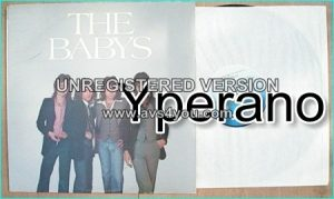 The BABYS: 1st, debut, s.t LP with rare cover. incredible vocals by John Waite [Bad English, Journey].