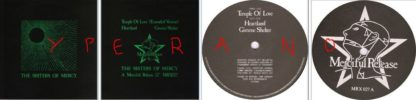 """The Sisters of Mercy: Temple of love 12"""" (hard sleeve cover) vinyl (+ Rolling Stones cover). Mint condition. Check videos"""