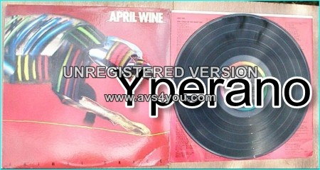 APRIL WINE: Animal Grace LP. Great A.O.R. Check video n