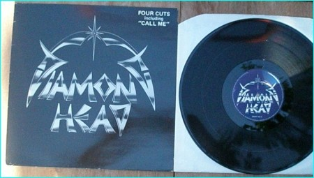 DIAMOND HEAD Four Cuts (Original 1982 UK MCA 4-track 12 vinyl EP, includes Call Me, Trick Or Treat, Dead Reckoning and Shoot Out