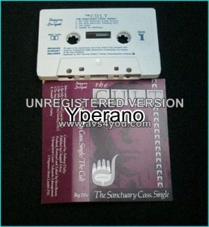 The CULT: The Sactuary [Cass Single Tape] Incl. different versions unreleased songs