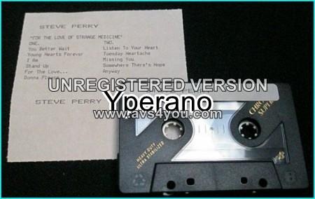 Steve PERRY: For the love of strange medicine [Promo Tape] JOURNEY SINGER Check samples.