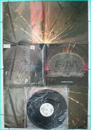 "FM Bad Luck (Limited Edition poster bag PROMO) 12"" This Could Be The Last Time/Hurt Is Where The Heart Is/ Bad Luck 7"" version"