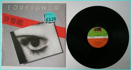 "FOREIGNER Say you will 12"" check VIDEO"