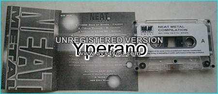 Neat Metal compilation [Tape] with Cronos from Venom, Blitzkrieg, Savage, etc. Check sample