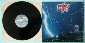 STONE FURY: Burns Like A Star LP [Lenny Wolf From Kingdom Come] Excellent Check 2 videos.