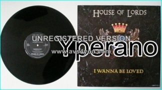 "HOUSE OF LORDS: I Wanna be loved 12"" Check video"