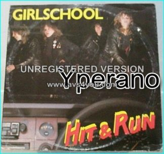 "GIRLSCHOOL: Hit n run 10"" vinylRARE LIMITED. Check video"