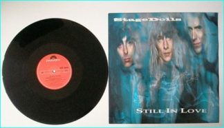 """STAGE DOLLS: Still in Love 12"""" Incl. 2 songs from the hard to find debut LP. Check video"""