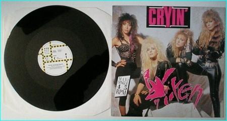 """VIXEN Cryin (Extended Remix) 12"""" Vinyl EPcheck video."""