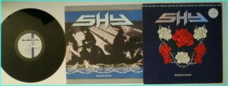 SHY: Broken Heart [1990 Limited edition ENVELOPE PACK 12 EP] check audio