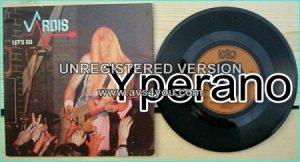 """VARDIS: Lets go 7"""" vinyl single 1980. Classic N.W.O.B.H.M CHECK VIDEO."""