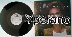 "John WAITE: missing you 12"" ex Bad English, The Babys singer CHECK VIDEO"