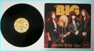 """mr. BIG: To be with You 12"""" 3 live songs in Tokyo (26-11-91)"""