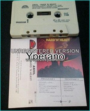 ANVIL: Hard n Heavy [tape] Check samples