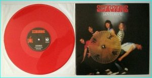 "SCORPIONS: Lovedrive 12"" [Red Vinyl] Check video"